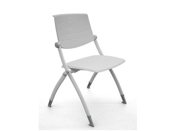 Stackable plastic training chair ZERO9 | Plastic training chair by Ares Line