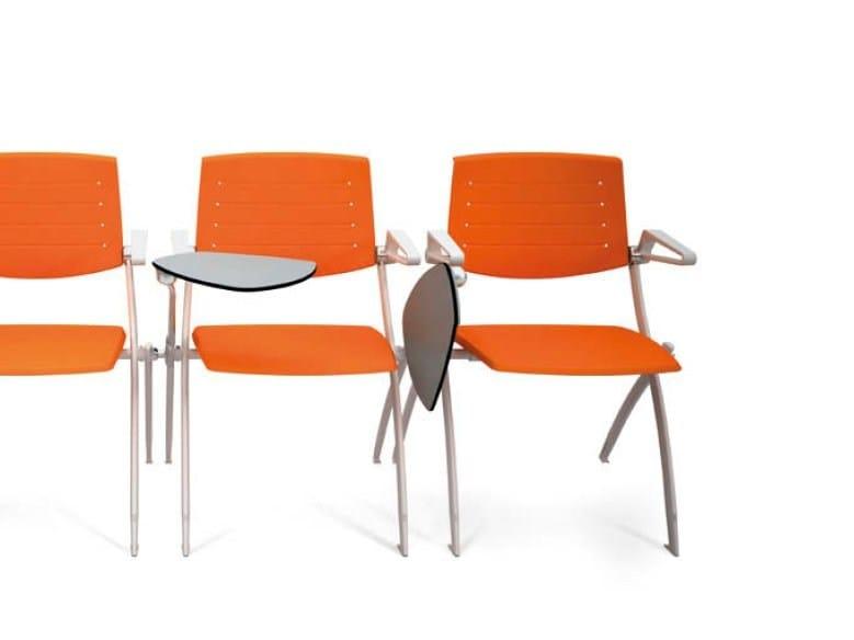 Sedie Ufficio Con Ribaltina : Sedia da conferenza impilabile con ribaltina zero sedia da