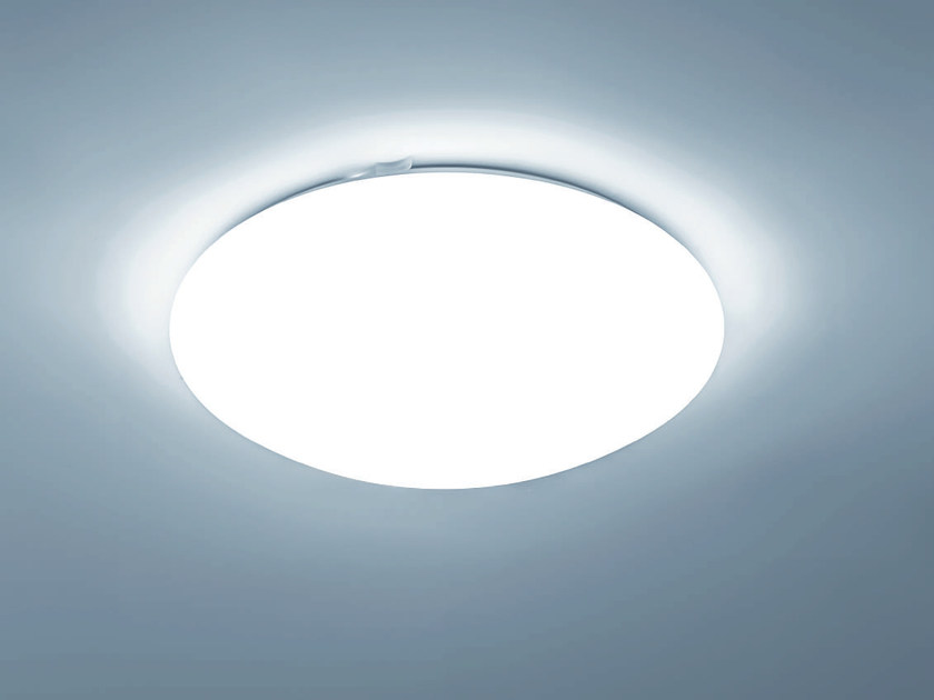 LED PMMA industrial ceiling light ZETA | Ceiling light by PLEXIFORM