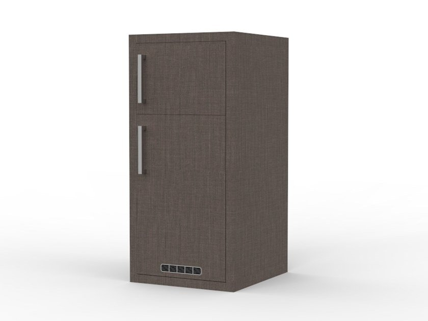 Cabinet for fridge and safe ZEUS PF 02 by Mobilspazio