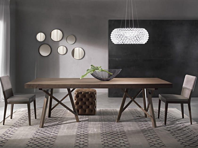 Tavolo allungabile rettangolare ZEUS | Tavolo in legno massello by Pacini & Cappellini