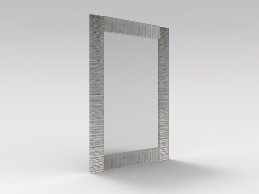 Specchio foglia argento con cornice ZEUS SP01 A Collezione ...