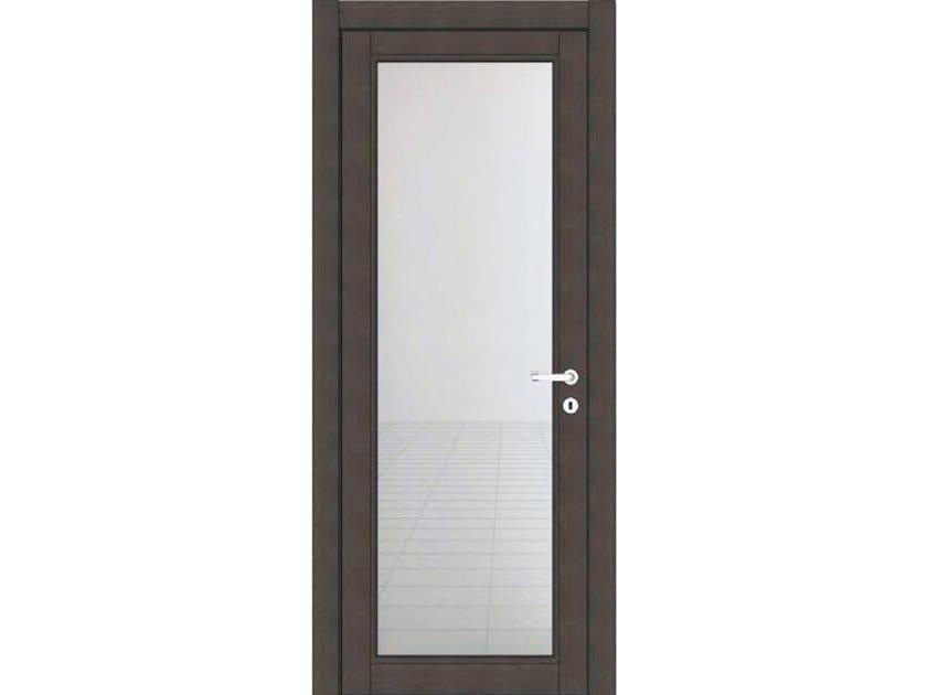 Hinged wood and glass door ZEUS Z209V1 ONICE by GD DORIGO