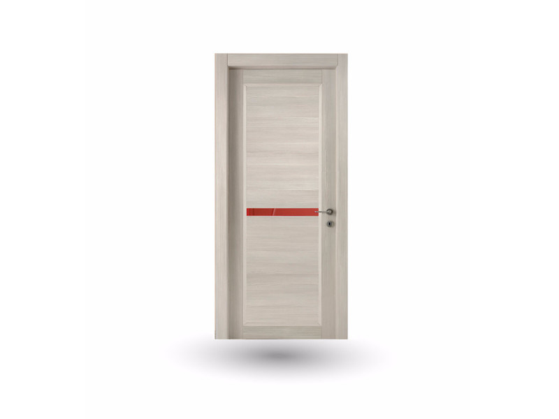 Hinged wooden door ZEUS Z320 CRONO WITH INSERT by GD DORIGO