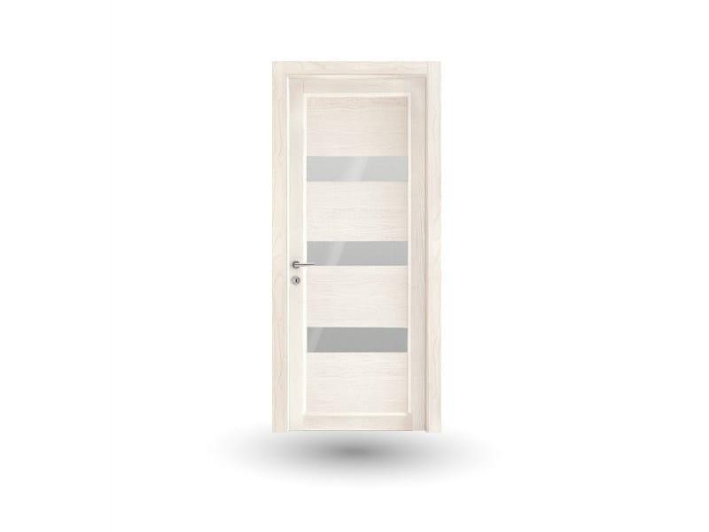 Hinged wooden door ZEUS Z322 JOTA by GD DORIGO