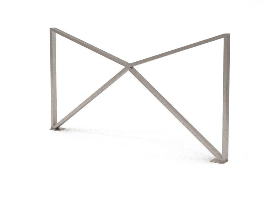 Steel pedestrian barrier ZIG ZAG by LAB23