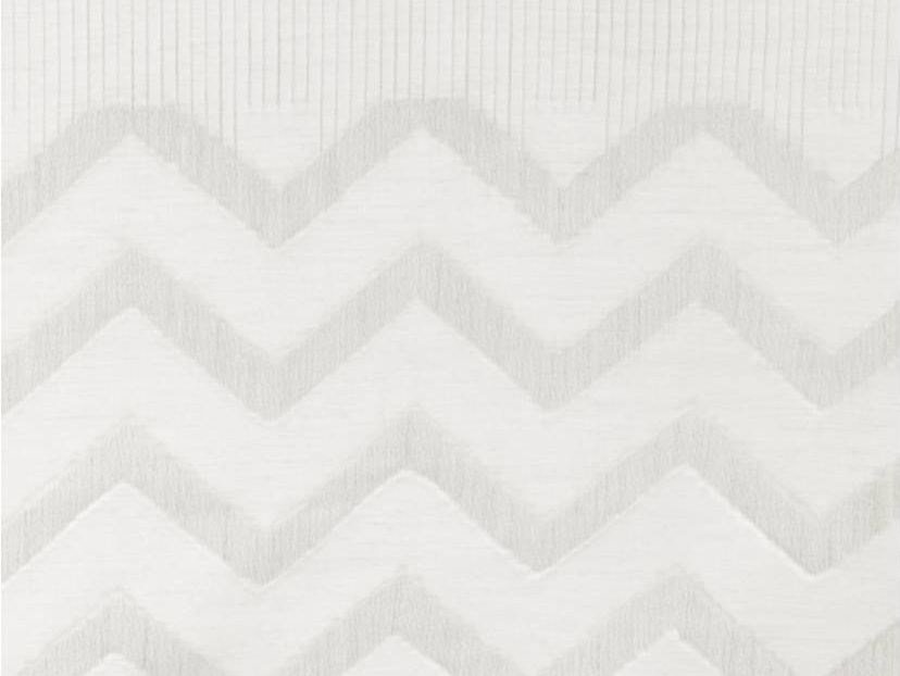 Jacquard fabric with graphic pattern for curtains ZIGGY&MILLY by Aldeco