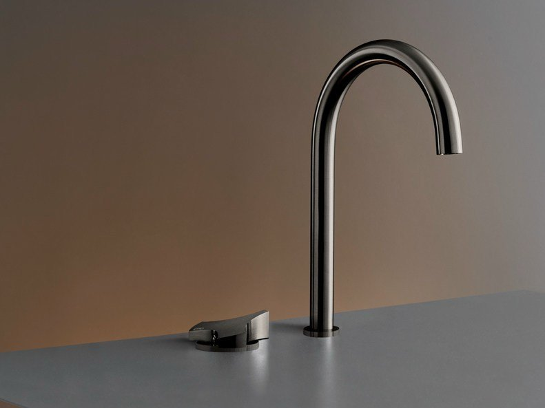 2 hole hydroprogressive washbasin mixer ZIQ 34 by Ceadesign