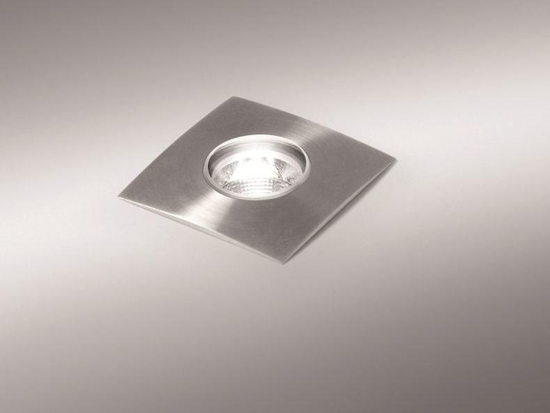 Lampada ad immersione / segnapasso in acciaio inox ZONA S / ZONA R by BEL-LIGHTING