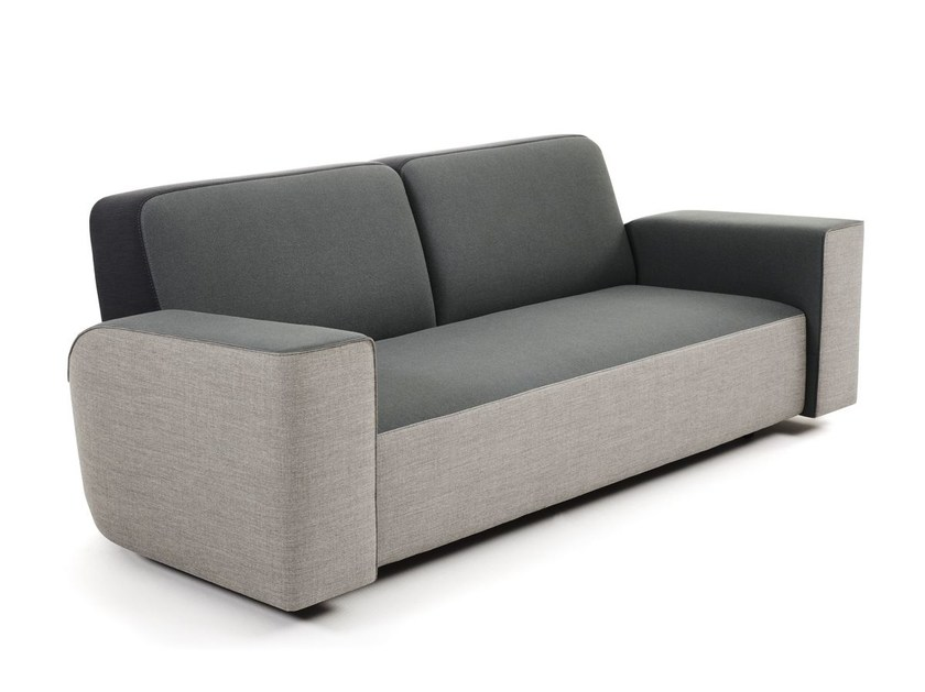 Upholstered fabric sofa ZOOM IN by Montis