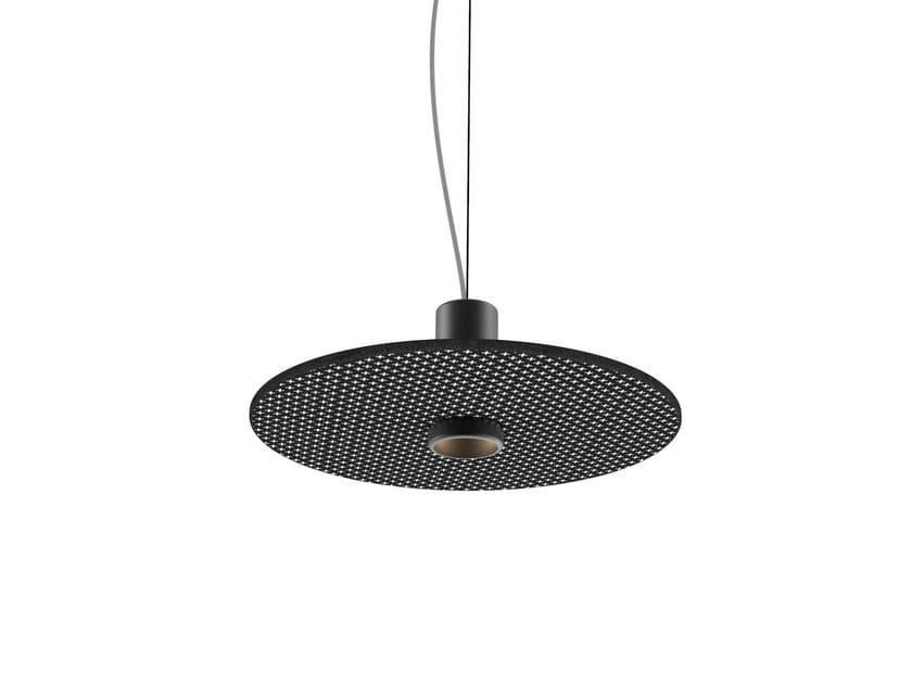 LED lava stone pendant lamp ZORA by Made a Mano