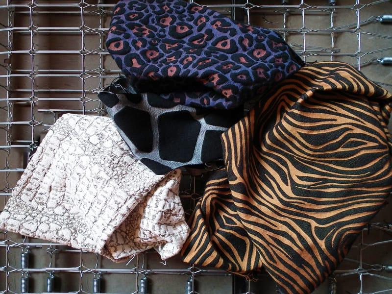 Animalier jacquard fabric ZUU CROCODILE by l'Opificio