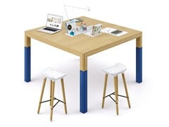 Tavolo da riunione in legnoÀ TABLE - CIDER