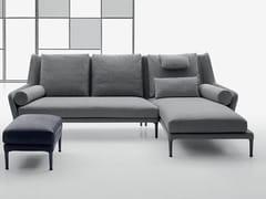 Divano in tessuto con chaise longueÉDOUARD | Divano con chaise longue - B&B ITALIA