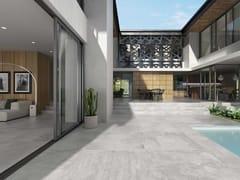 Pavimento in gres porcellanato effetto cementoÓPERA SILVER - EXAGRES