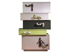 Cassettiera in legnoLONDON | Cassettiera in stile moderno - LOLA GLAMOUR