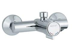 Miscelatore per doccia temporizzato a parete MINIMAL 08132 | Miscelatore per doccia a 2 fori - Minimal