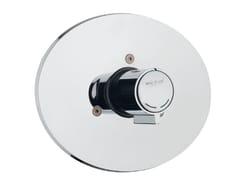 Miscelatore per doccia temporizzato a parete con piastra MINIMAL 08142 | Miscelatore per doccia - Minimal