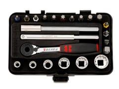Würth, Assort. chiavi bussola multiprofilo 1/4m Assortimento chiavi bussola multiprofilo 1/4 mini