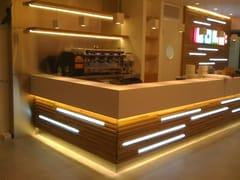 Bancone bar in Corian®Bancone bar - CAVALLARO MARCO