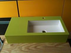 Piano lavabo in Corian®Piano lavabo - CAVALLARO MARCO