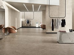 Pavimento/rivestimento in gres porcellanato effetto pietraWIDE GRES 260 LAGOS SAND - CERAMICHE COEM