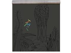 Carta da parati magnetica in vinile BLACK PRINT GIRAFFE - Chalkboard