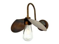 Lampada da parete fatta a mano in ottone per bagnoHALI Swan Neck - MULLAN LIGHTING