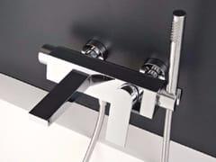 Miscelatore per vasca a muro con doccetta 100 | Miscelatore per vasca - 100