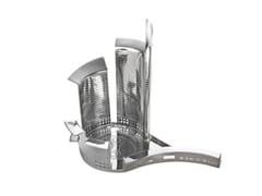 Vassoio rotondo in metallo100 PIAZZE - MILANO PORTA NUOVA - DRIADE