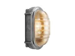 Lampada da parete in alluminio e vetro 100512 | Lampada da parete in alluminio e vetro -