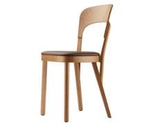 Sedia in legno con cuscino integrato 107 P - 107