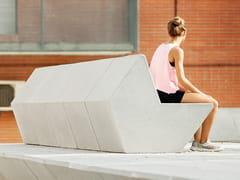 URBIDERMIS, 108 | Panchina con schienale  Panchina con schienale
