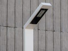 Lampione stradale a LED su palo in acciaio zincato108 | Lampione stradale - URBIDERMIS