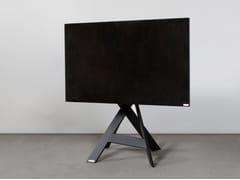 Supporto per monitor/TV in acciaioMIKADO - ART113 | Supporto per monitor/TV - WISSMANN RAUMOBJEKTE