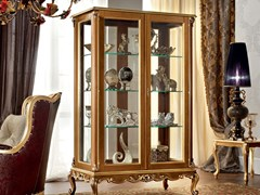 Vetrina in legno massello 12127 | Vetrina - Casanova