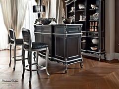 Mobile bar in legno massello 12134   Mobile bar - Casanova