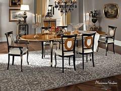 Tavolo ovale in legno massello 12140 | Tavolo - Casanova