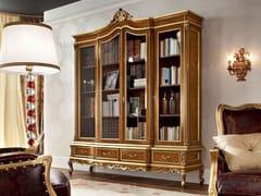 Libreria in legno massello con cassetti 12301 | Libreria - Casanova