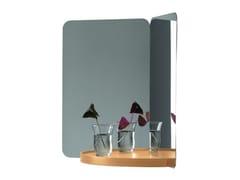 Specchio rettangolare con mensola124° MIRROR | Specchio con mensola - ARTEK