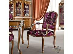 Sedia imbottita in tessuto con braccioli 12506 | Sedia con braccioli - Casanova