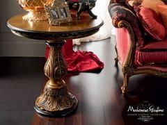 Tavolino rotondo in legno massello da salotto 12613 | Tavolino - Casanova
