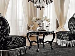 Tavolino basso da caffè in legno massello 12626 | Tavolino - Casanova