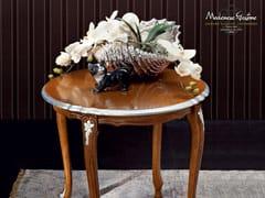 Tavolino basso rotondo in legno massello 12631 | Tavolino - Casanova