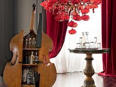 Mobile bar in legno massello 12657 | Mobile bar - Casanova