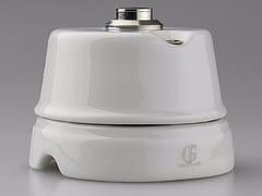 GI Gambarelli, WHITE ITALY - 13 Pulsante per campanello in porcellana