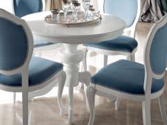 Tavolino rotondo con base a 4 razze 13147 | Tavolino - Bella Vita