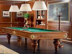 Tavolo da biliardo rettangolare in legno 13601 | Tavolo da biliardo - Bella Vita