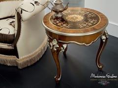 Tavolino di servizio rotondo in legno 13646 | Tavolino - Bella Vita