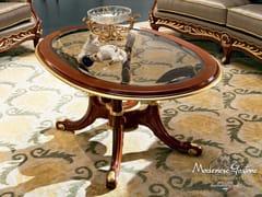 Tavolino basso ovale da salotto 13654 | Tavolino - Bella Vita